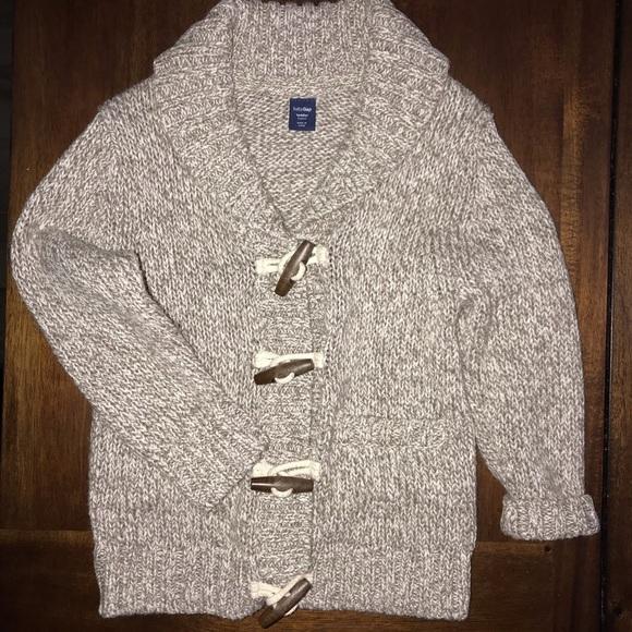 f2c1d80b4 GAP Jackets & Coats | Baby Grandpa Sweater Toggle Button | Poshmark